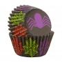 Хартиени форми за мини мъфини - Хелоуин паяк - 100 бр