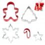 Комплект метални цветни резци - Коледен подарък - 5 бр