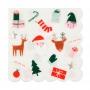 Парти салфетки, малки - MeriMeri - Коледни любимци