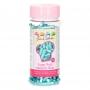 Захарни декорации XL - Металик синьо - 70 гр