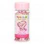 Захарни декорации XL - Металик розово - 70 гр