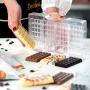 Поликарбонатен молд - Класически мини шоколади - 4 бр