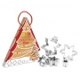 Комплект метални резци - Коледна елха