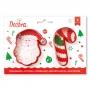 Комплект резци - Дядо Коледа и Захарно бастунче - 2 бр