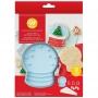 Комплект за бисквитки - Снежен глобус