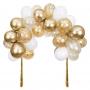 Арка от балони - MeriMeri - Златна арка