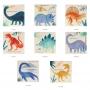 Парти салфетки - MeriMeri - Динозаеърско царство - Малки