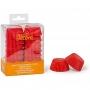 Хартиени форми за мини мъфини - Червени - 200 бр