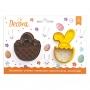 Комплект резци - Великдеснка кошница и Зайче в яйце - 2 бр