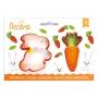 Комплект резци - Зайче и Морков - 2 бр
