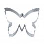 Метален резец - Пеперуда - 9.5 см