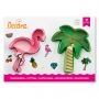 Комплект резци - Фламинго и Палма - 2 бр