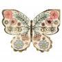 Парти салфетки - MeriMeri - Цветни пеперуди