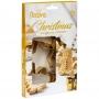 Комплект златни метални резци - Златна Коледа - 5 бр