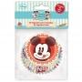 Disney - Хартиени форми за мъфини - Мики Маус - 60 б