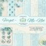 Forget Me Not - 12x12 - Блокче двустранни дизайнерски хартии