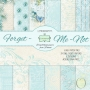 Forget Me Not - 6 x 6 - Блокче дизайнерски хартии