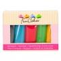 FunCakes - Марципани Мултипак - Основни цветове - 5 х 100 гр