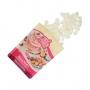 FunCakes - Бонбони за топене Deco Melts - Натурално бял - 250 гр