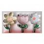 MeriMeri - Комплект метални резци - Пролетна градина - 3 бр