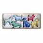 MeriMeri - Комплект метални резци - Мили кучета - 6 бр