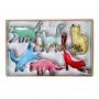 MeriMeri - Комплект метални резци - Забавни котки - 6 бр