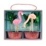 MeriMeri - Комплект за мъфини - Фламинго