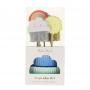 MeriMeri - Комплект за мъфини - Слънце, облак и дъга