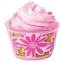 Декорираща опаковка за мъфини и кексчета - Цветя - 18 бр