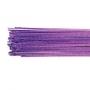 Набор флорални телчета металик - Пурпурно лилави - размер 24 / 5