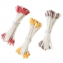 Комплект тичинки за цветя - Лилиум, разноцветни - 180 бр