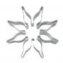 Метален резец - Коледна звезда - 8 см