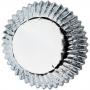 Хартиени форми за мини мъфини и кексчета - Сребро - 36 бр