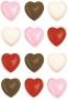 Калъп за 15 3D фигурки - Сърца