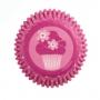Хартиени форми за мини мъфини - Розово парти - 100 бр