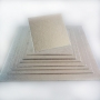 Подложка за торта - Сребриста квадратна - 25 х 25 см