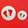 Комплект резци - Бебешки стъпки - 2 бр