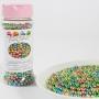 Захарни перли - Металик, Арлекин - 80 гр