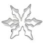 Метален резец - Снежинка - 6 см