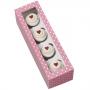 Комплект кутии за мини мъфини - Св. Валентин - 4 бр