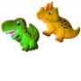 Комплект резци и щампи с бутало - Динозаври - 2 бр