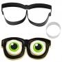 Комплект метални резци - Хелоуин очила - 2 бр