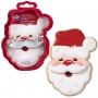 Комплект метални цветни резци - Дядо Коледа - 2 бр