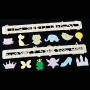 Комплект резци и щампи - Детски мотиви - 12 бр