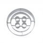 Метален резец - Копче - 5 см