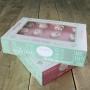 Комплект кутии за торти - Сладки мисли - 36х25х8 см