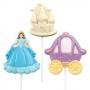 Калъп за 3 фигурки - Принцеса