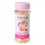 Меки захарни перли - Бели и оранжеви - 60 гр