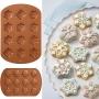 Форма за печене с незалепващо покритие - Винтидж снежинки