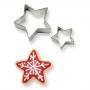 Комплект метални резци - Звезди - 2 бр